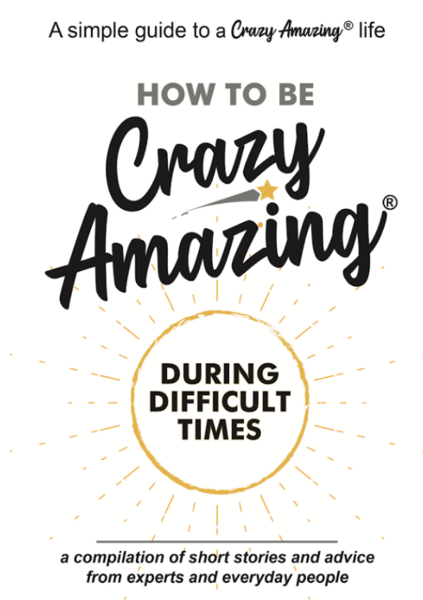 How to Be Crazy Amazing Book Cover