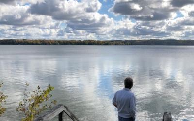 The Scene on a Lake