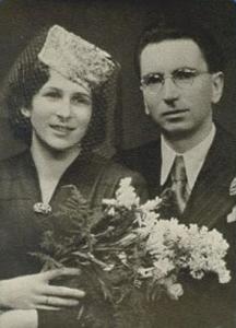 Viktor Frankl's wedding photo. 1941.