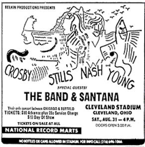 The Band and Santana
